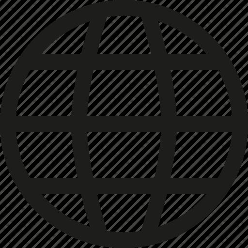 line, world icon