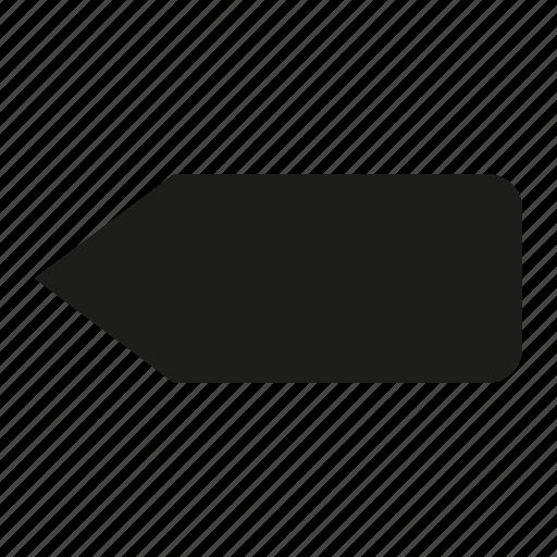 arrow, back icon