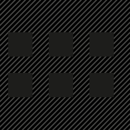 block, full icon