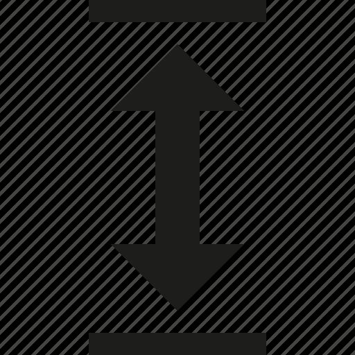 box, down, up icon
