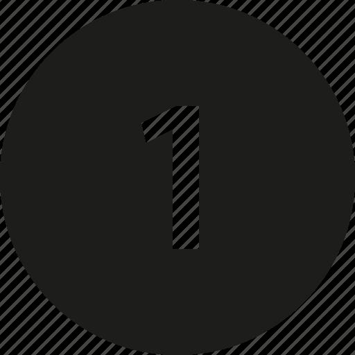 cent, circle, coin icon