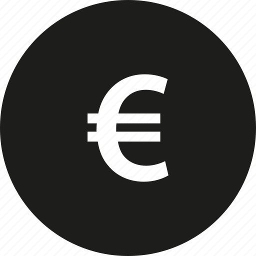circle, coin, euro icon