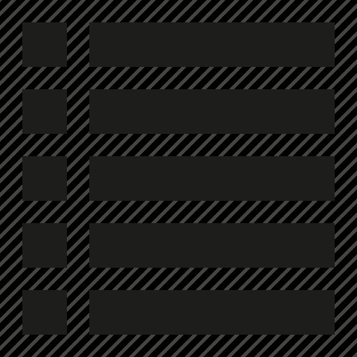 li, list icon