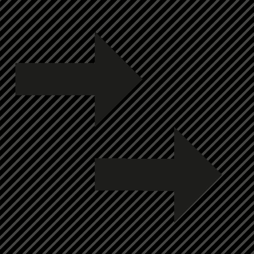 double, multiple icon