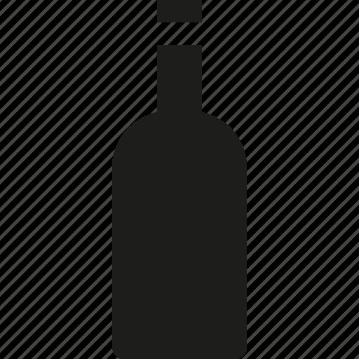 bottle, wine icon