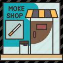 shop, store, commercial, cigarette, smoke