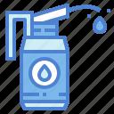 bottle, lubricant, oiler, petroleum