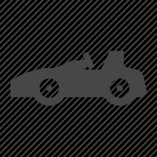 racing car, sports, sports car, super car icon