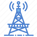 antenna, satellite, signal, station, stations, tower icon