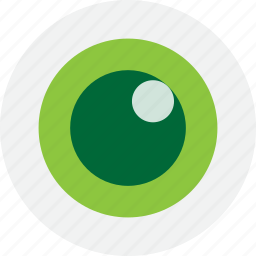 eye, green, look, search, view icon