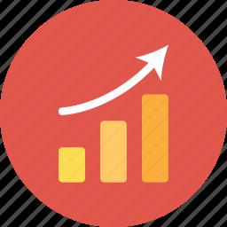 analytics, finance, graph, report, statistics icon