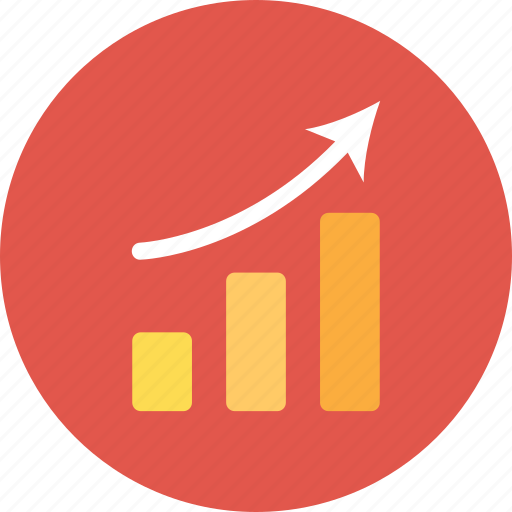 Report, analytics, statistics, finance, graph icon