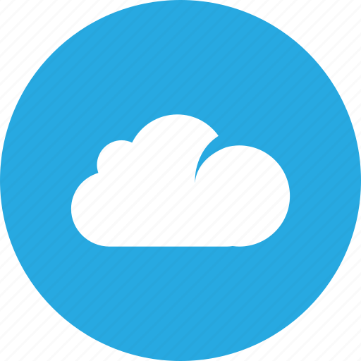 cloud, clouds, sky, storage icon