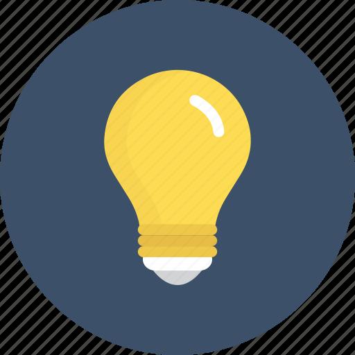 energy, idea, lamp, light icon