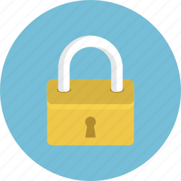 lock, locked, password, protected icon
