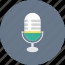 micro, microphone, radio, speaker