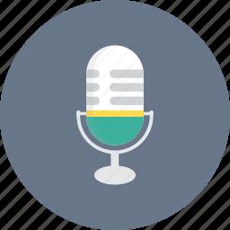 micro, microphone, radio, speaker icon