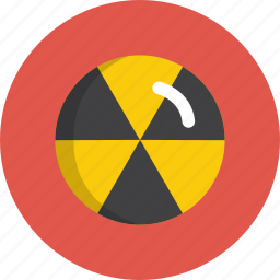 attention, burn, danger, do, not, nuclear icon