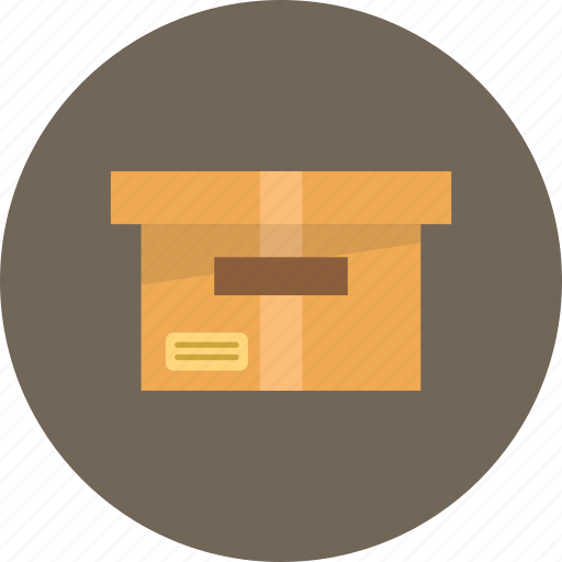 archive, box, delivery, documents, office icon