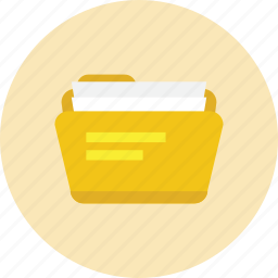 archive, documents, files, folder icon