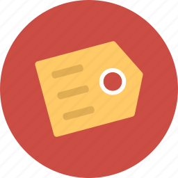 number, price, tag, ticket icon
