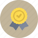 badge, best, first, honor, prize, trophy, winner icon