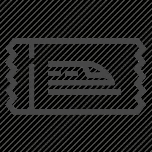 Railroad, railway, ticket, train icon - Download on Iconfinder