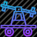 cart, handcar, pump, railroad, trolley