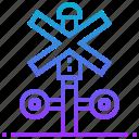 block, cross, forbidden, signpost, stop
