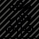 block, cross, forbidden, signpost, stop icon
