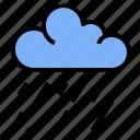 cloud, downpour, rain, rainstorm, storm icon