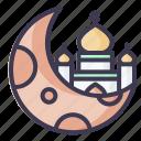 moon, islam, muslim, religion, ramadan, eid, arab