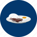 egg, eid, food, islam, ramadan, religion, rice icon