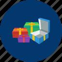 box, eid, gift, islam, present, ramadan, religion icon