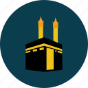 eid, islam, ka'bah, object, pray, ramadan, religion icon