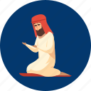 character, eid, islam, moslem, pray, ramadan, religion icon