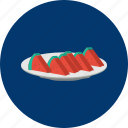 eid, fruit, islam, ramadan, religion, watermelon icon