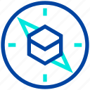 compass, direction, makkah, ramadan, saudi arabia icon