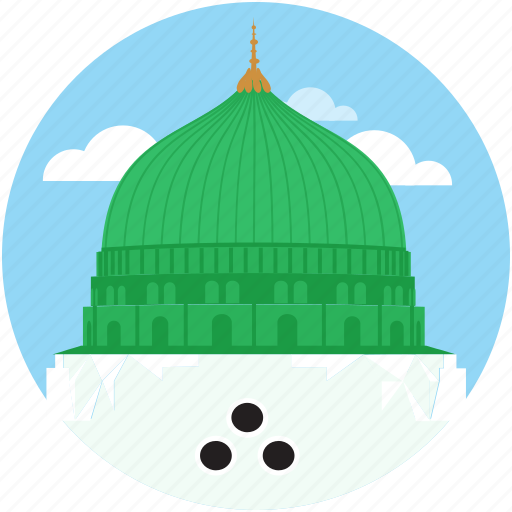 Arab, islamic, madina, mosque, muslim, prophet, ramadan icon - Download on Iconfinder