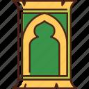 rug, ramadan, carpet, salat, mat, prayer, islam icon
