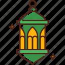 lantern, light, lamp, decoration, ramadan, celebration, festival icon