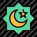 half, islam, islamic, moon, moslem, muslim, star