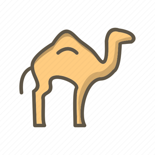 Animal, arabian, camel icon - Download on Iconfinder