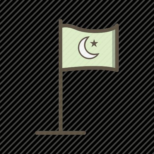 Flag, islamic, islamic flag icon - Download on Iconfinder