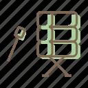 bedug, drum, ramadan icon