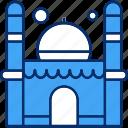 mosque, muslim, ramadan icon