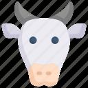 animal, cow, eid, fasting, islam, muslim, ramadan icon
