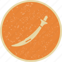 fight, sword, war icon