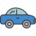 automobile, car, driving, hatchback, transport, travel, vehicle icon