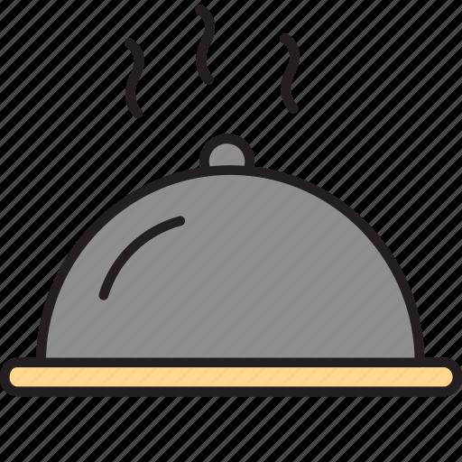food, hot, meal, order, serve, veg icon